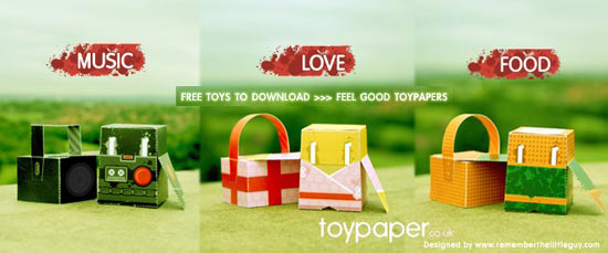 Feel Good Project Toypaper