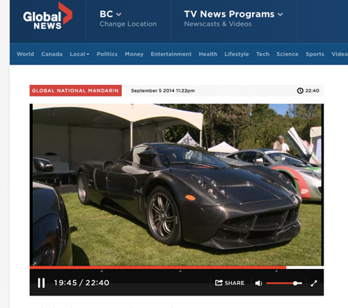 Luxury & Supercar Weekend Vancouver Design Branding Media Relations Think x Blink Communications PR